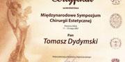 Certyfikaty dr. Dydymskiego