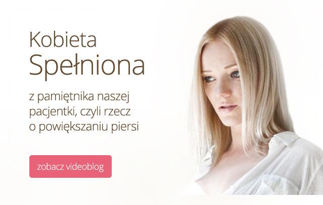 Powiększanie biustu - videoblog