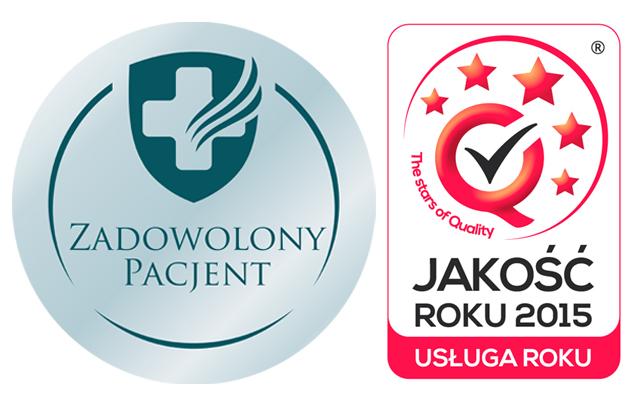 """Jakość Roku 2015 oraz wyróżnienie pacjentów """"Zadowolony Pacjent 2015"""""""