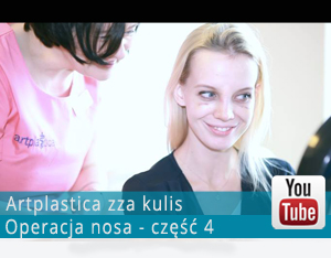 Videoblog - operacja nosa. Część 4 -  dzień zdjęcia opatrunku