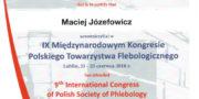 dr Maciej Józefowicz - certyfikat